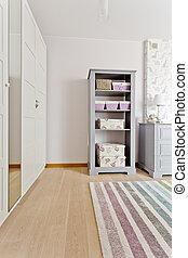 Pastel retro rack - Pastel retro style furniture idea in...