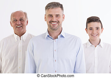 The power of men - Cropped shot of a multigenerational...