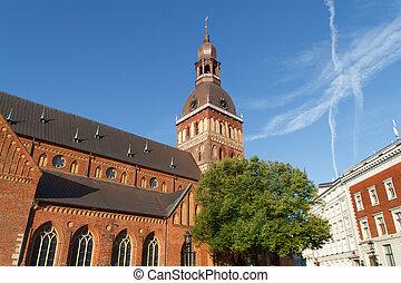 View at Riga ,Latvia - View at Riga from the tower of Saint...