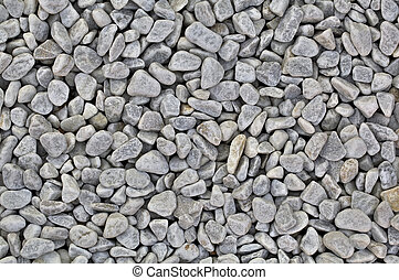 Grey Scree Rock Background - Bowlder Pebble Stone Texture...