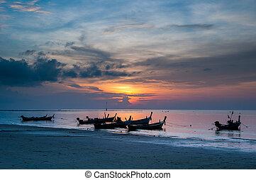 Kata Beach, Phuket ,Thailand - Excursion Boats, Kata Beach,...