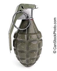 World War 2 Fragmentation Grenade - World War 2 era...
