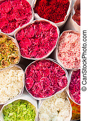 Pak Khlong Talat, Flower market, Bangkok, Thailand