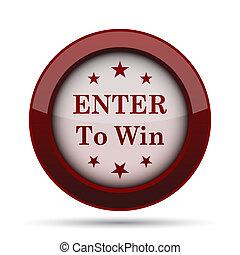 enter to win icon - photo #11