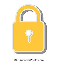padlock money security  design