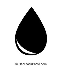 drop gasoline oil isolated design vector illustration eps 10