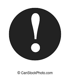 attention caution warning symbol design vector illustration...