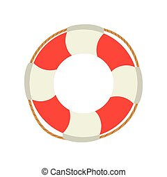 life bouy lifebelt design vector illustration eps 10