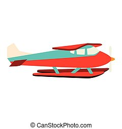 hydroplane seaplane fly water