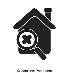 house search zoom isolated