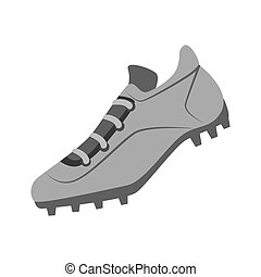 tennis shoes baseball isolated