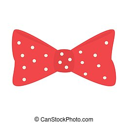 bow tie hipster retro vintage isolated