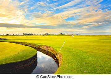 Swilcan Bridge, St Andrews - Golf course,Swilcan Bridge, St...