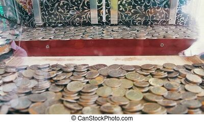 Slot Machine with Coins