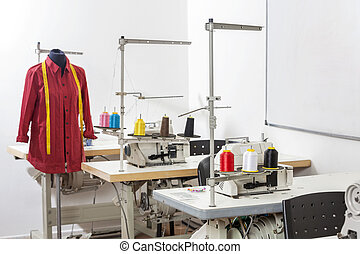 Mannequin In Sewing Factory - Shirt on mannequin by...