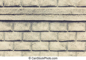 background of white brick wall texture pattern