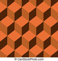 Seamless pattern cube art - Abstract Seamless pattern color...