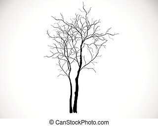 Branches of dead tree - Dead Tree without Leaves Vector...