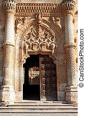 Puerta of palace in Guadalajara - Puerta of palace Palacio...