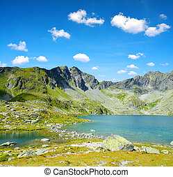 Mountain lake Hincovo pleso in High Tatras - Slovakia