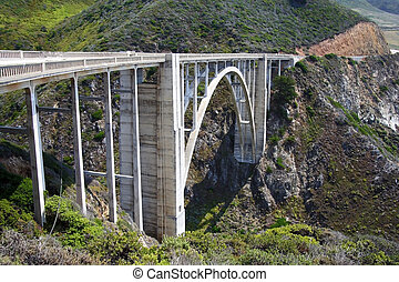 Bixby Creek Bridge - The historic Bixby Creek Bridge on the...