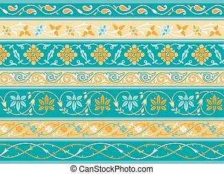 Decorative persian borders