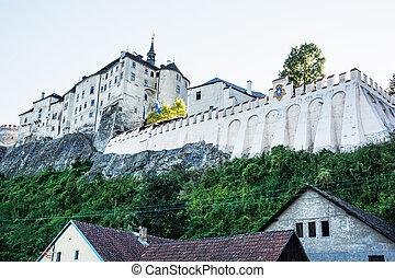 Cesky Sternberk castle, Czech republic, ancient architecture...