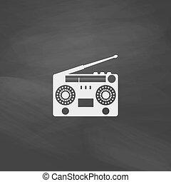 boombox computer symbol