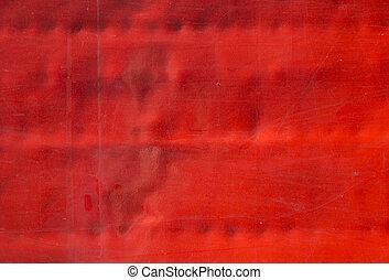 metaliczny, czerwony, tło