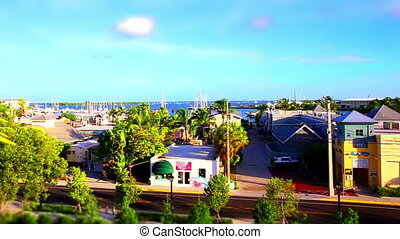 Key West Time Lapse Tilt shift - Florida Key West Time Lapse...
