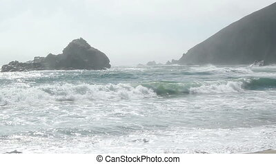 Pfeiffer beach California - Ocean view Pfeiffer beach...