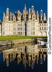 Chambord Castle, France - Chambord Castle, Loire-et-Cher,...