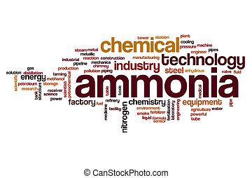 Amoníaco, palabra, nube