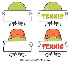 Tennis Ball Faceless Collection - 3 - Tennis Ball Faceless...