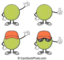 Tennis Ball Faceless Collection - Tennis Ball Faceless...