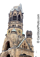 Memorial Church in Berlin preserved as memorial