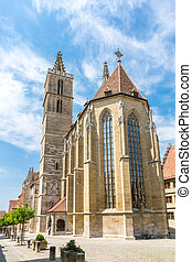 Rothenburg ob der Tauber Church, Franconia, Bavaria, Germany