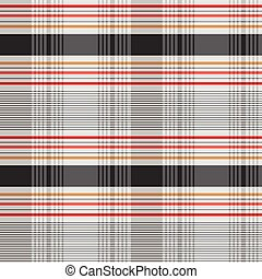 Vector Plaid Pattern - Vector decorative plaid pattern Easy...
