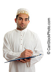 Arab businessman - Arab mixed race business man wearing...