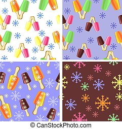 background with the image of ice cr - options for the...