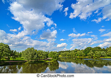 Big Pond Tsaritsyno in Moscow, Russia - Big Pond Tsaritsyno...