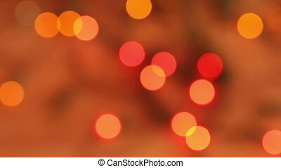 Abstract christmas background. flashing garland HD