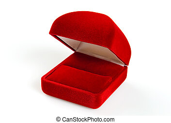 Red small box for expensive gifts