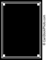 elegant vertical frame - Creative design of elegant vertical...
