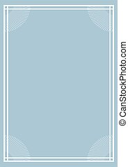 vertical blue nice frame cover
