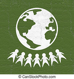 World peace - Creative design of World peace