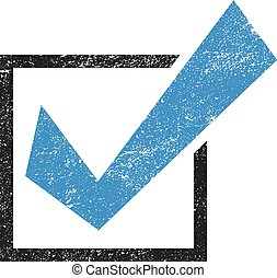 Positive Check Mark Yes vector