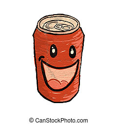 funny can - Creative design of funny can