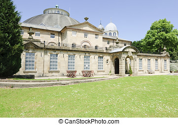 University of Derby building in Buxton Derbyshire England