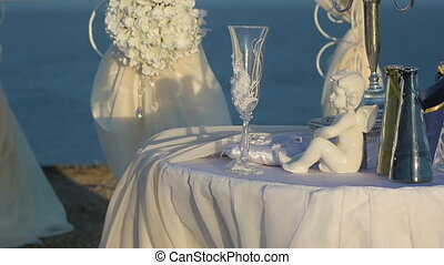 Wedding paraphernalia at the seaside - Beautiful wedding...